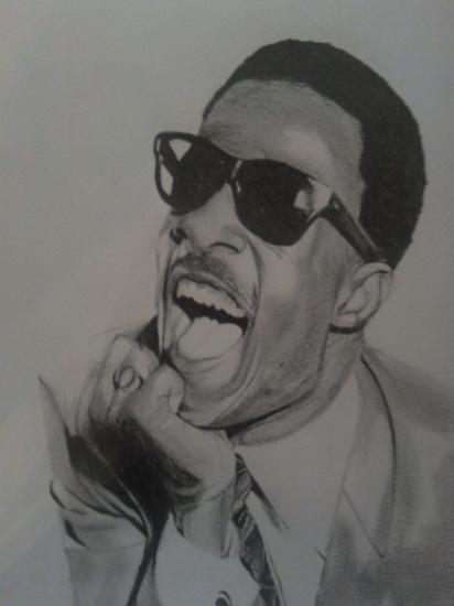 Stevie Wonder by remi